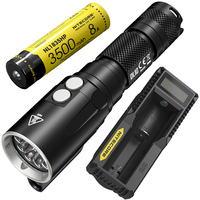 NITECORE DL10 UM10 Charger 18650 Battery 1000LM CREE XP L HI V3 LED Diving Light Underwater