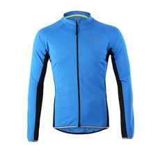 ARSUXEO 2017 Outdoor Sports Cycling Jersey Spring Summer Bike Bicycle Long Sleeves MTB Clothing Shirts Wear Bike Jersey