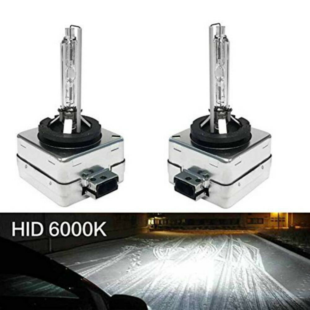2x 12V 35W <font><b>D1S</b></font> D1C <font><b>Xenon</b></font> HID Lamp 3000K 4300K <font><b>6000K</b></font> 8000K White Yellow Blue DS1 HID Replacement Bulbs Auto Car Headlight Light image