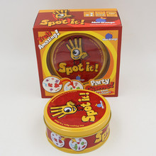 Educational Let s spot it toy game quality paper with metal box best gift for your