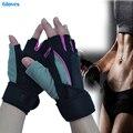 Tactical Fitness Esportes Luvas de Levantamento de Peso Ginásio Treinamento de musculação Fitness Workout Pulso Envoltório Exercício Luva para Mulheres Dos Homens