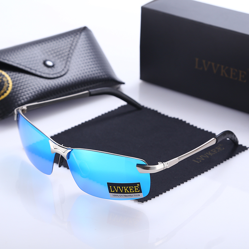 2017 LVVKEE Hot Brand Designer Polarized Men Sunglasses Male Outdoor Driving Sun Glases For Women Eyewear oculos de sol