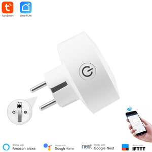 Image 2 - Akıllı yaşam APP ab güç izleme WiFi soket kablosuz fiş akıllı ev anahtarı ile uyumlu Google ev, alexa ses kontrolü