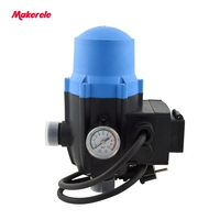 Automatic Electronic Water Pump Pressure Switch Adjustable Pressure Control MK WPPS12 With The Plug Socket Wires