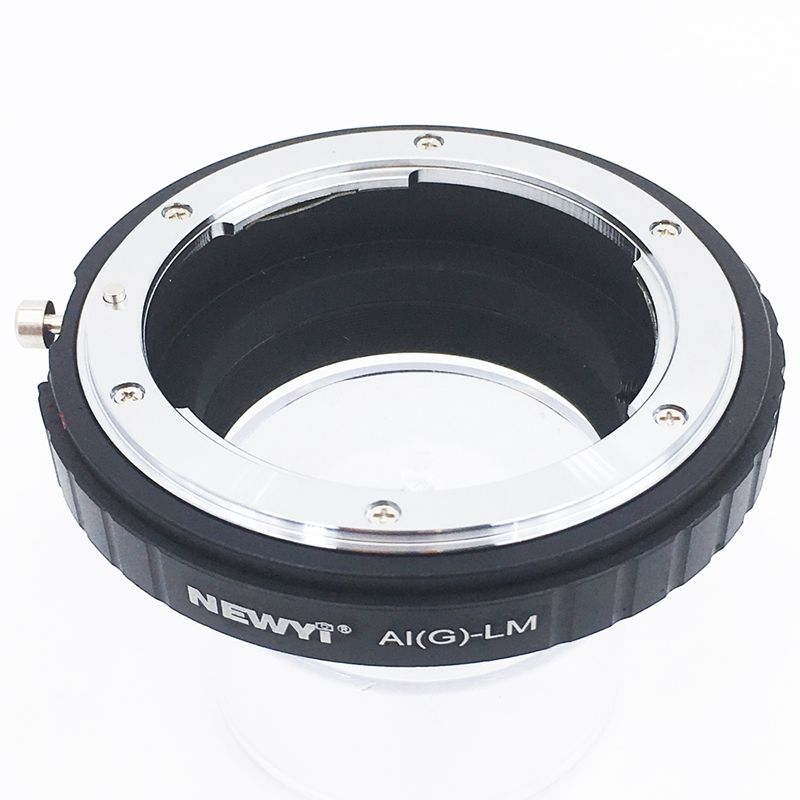 Image 2 - NEWYI Adapter for Nikon AI F G AF S Mout lens to Leica M LM L/M Camera NEW camera Lens Converter Adapter Ring-in Lens Adapter from Consumer Electronics