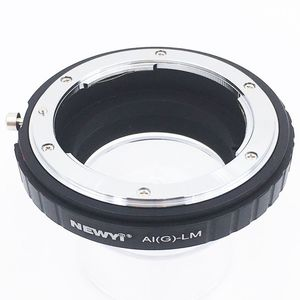 Image 2 - NEWYI Adapter for Nikon AI F G AF S Mout lens to Leica M LM L/M Camera NEW camera Lens Converter Adapter Ring
