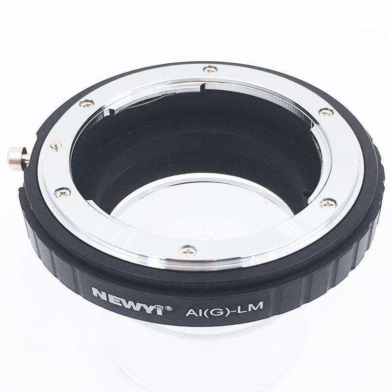 Image 2 - NEWYI адаптер для Nikon AI F G AF S Mout объектив для Leica M LM L/M камера Новый объектив преобразователь камеры переходное кольцо-in Адаптер объектива from Бытовая электроника