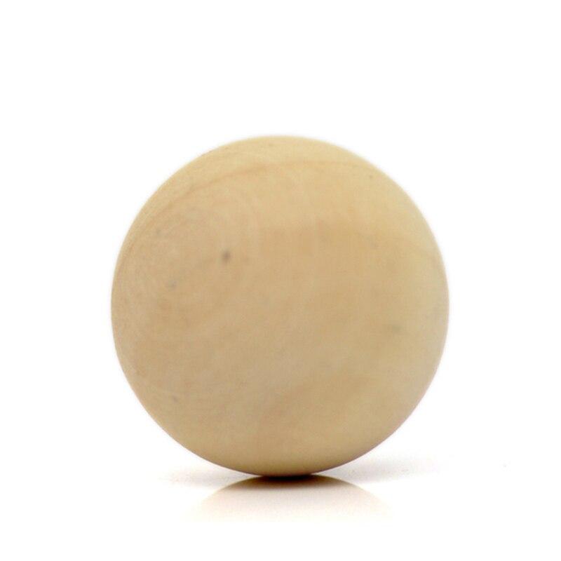 """750 قطع الجملة سحر خشبية الخشب الطبيعي الكرة المستديرة الخرز لا ثقب 20 ملليمتر (6/8 """") ضياء.-في خرز من الإكسسوارات والجواهر على  مجموعة 2"""