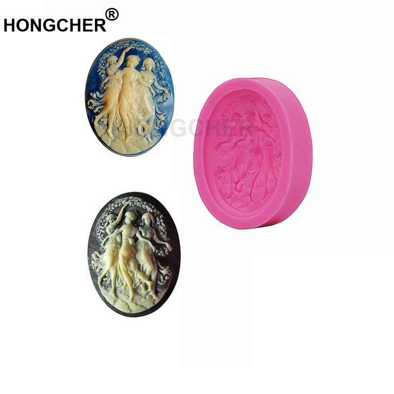 New Angel Fairy Fondant Cake Silicone Mould Chocolate Mould, Cake Dessert Decorating Mold, Kitchen Baking Gadget, Cookie Mousse