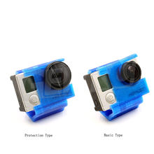 1PC 3D Printed Camera Protective Cover Mount for GOPRO Cameras Fixed Seat Bracket Basic Type/Protection Type DIY RC Drone Parts