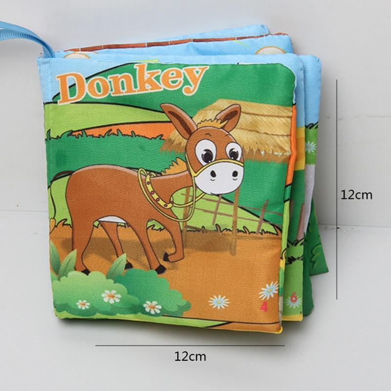 6 հատ Մանկական գրքույկ Փափուկ եղջերու - Խաղալիքներ նորածինների համար - Լուսանկար 6
