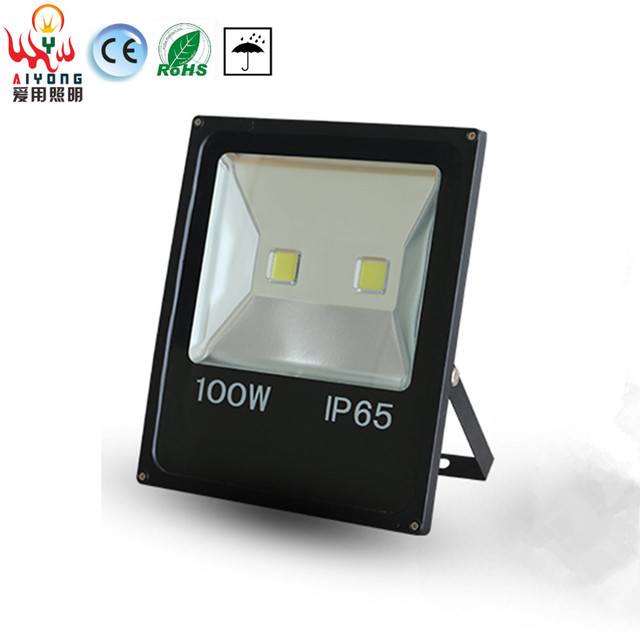 100W LED Flood Light Outdoor Waterproof IP65 Safety Fluorescent Light Slim Black 110V / 220V Outdoor  sc 1 st  AliExpress.com & 100W LED Flood Light Outdoor Waterproof IP65 Safety Fluorescent ...