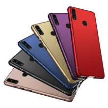 for Huawei honor 8c case honor 8x Case Luxury Hard Matte Plastic bumper cover for Huawei
