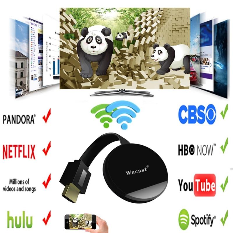 Ultra G2 TV Stick Dongle Crome fundido HDMI WiFi receptor pantalla para Netflix YouTube Hulu cromo HDTV adaptador g2