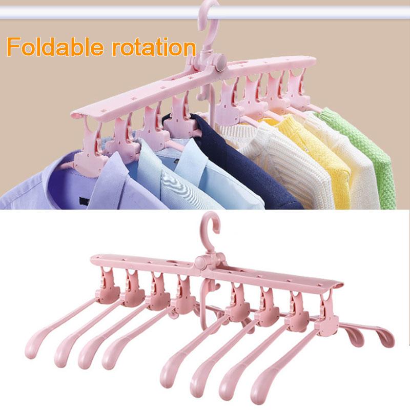 SOLEDI сушилка Складная PP многофункциональная стойка Магия вешалка взрослых шкаф вешалка для одежды регулируемая одежда стенд