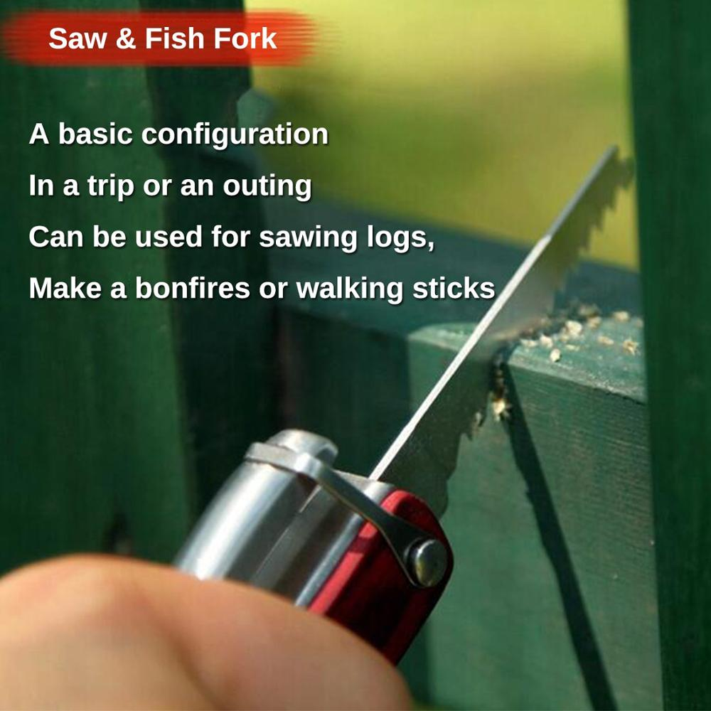 Image 5 - MYSBIKER Portable Multipurpose Multi Tool Multifunctional Pocket Mini Tools with Axe Hammer Plier Set Wooden Handle