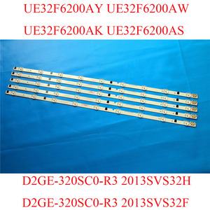 Image 4 - TV LED Bars For Samsung UE32F6200AY UE32F6200AW UE32F6200AK UE32F6200AS Replacement 2013SVS32H 2013SVS32F LED TV Backlight Strip
