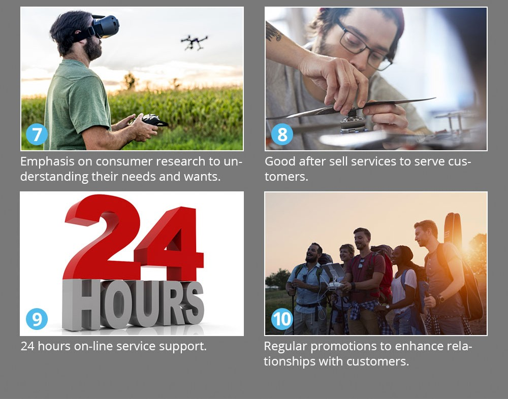 [EU USA JP Stock] Holy Stone HS100 GPS Selfie FPV Drone 500m Flight Range 2500mAh 1080P 7P Camera RC Quadcopter No Tax to EU 34