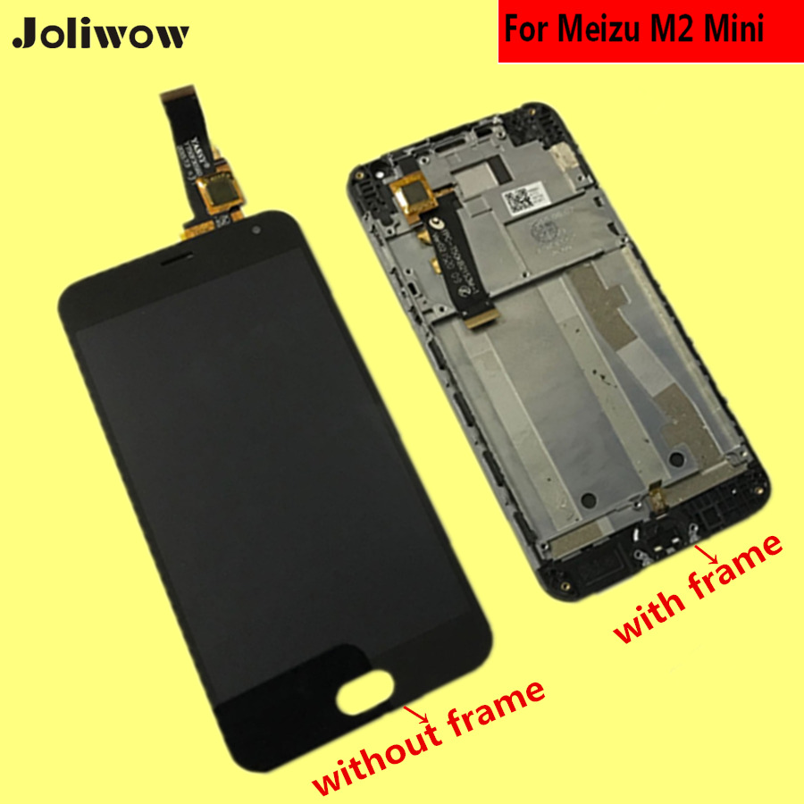 FOR Meizu M2 Mini LCD M2MINI LCD Display Touch Screen Tools tested Digitizer Assembly Replacement in Mobile Phone LCD Screens from Cellphones Telecommunications
