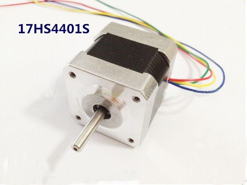 1pc 17HS4401S 3D printer 4-lead Nema17 Stepper Motor 42 motor Nema 17 motor 42BYGH 1.7A 65oz.in motor for CNC XYZ цена и фото