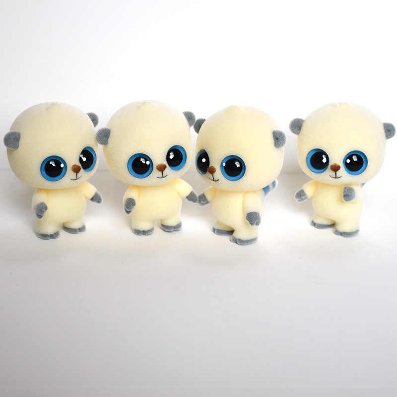 Śliczne wielkie oczy lalki małpy uciekają lalki Kawaii mini dekoracja zabawki dla dziewczynek małe wykwintne lalki najlepsze prezenty świąteczne