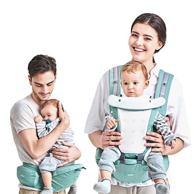 ac1be8224ab Beth Bear Baby Carrier 4In 1 Hipseat Mochila Infantil Canguru Baby  Backpacks Sling Carriers Ergonomic Mochila Newborn 0-36 Month