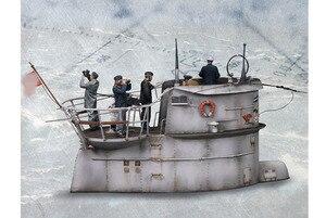 New arrivals 1/35 Resin Bust Model Kits Submarine Membership Group (No submarine) Unassambled Unpainted