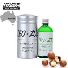 LEOZOE Macademia Nut Oil Certificate Of Origin Australia High Quality Macademia Nut Essential Oil 100ML Aceites Esenciales