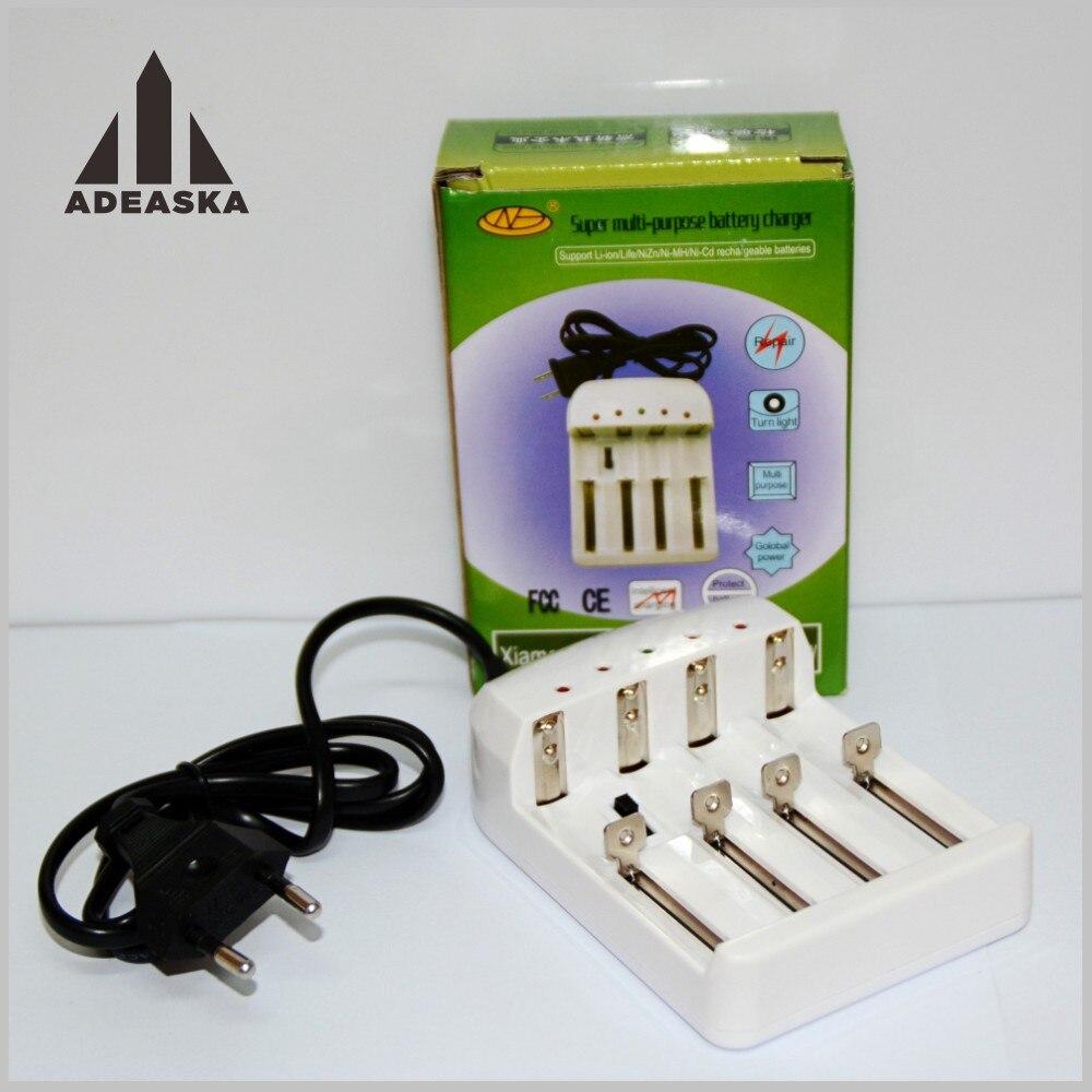 HuanGao 4 slots 18650 battery charger HG-1412w chargerLi 1.5 V 1.2 V batterij AA/AAA26650/14500/16340/10440