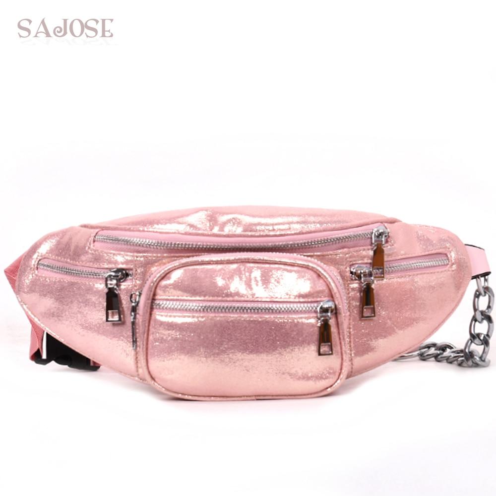 купить Women Chest Bags Waist Belt Bag Lady Fashion Multifunctional Designer Small Shoulder Bag Girls Pink Messenger Bag Drop Shipping по цене 854.05 рублей