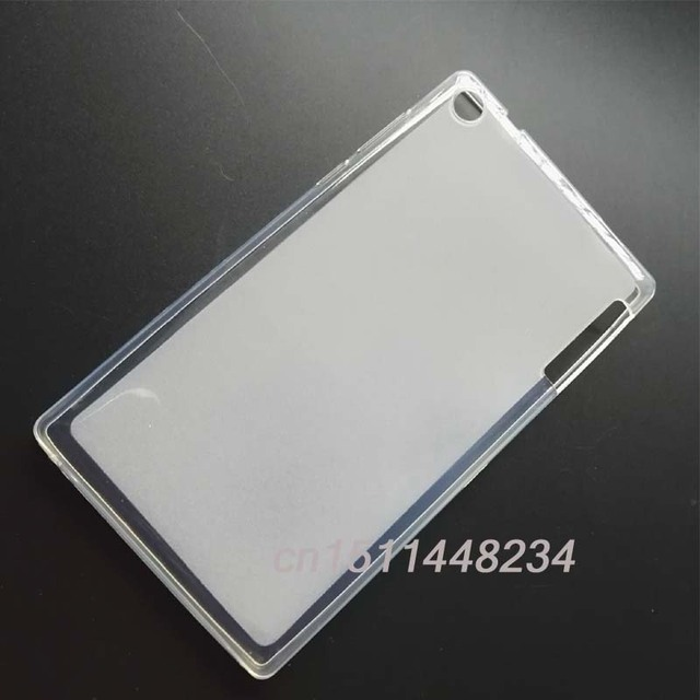 HOT! Slim Soft Silicone Rubber Protective TPU Shell Case Cover for Lenovo Tab 2 Tab2 A7-30HC A7-30 A7-30TC A7 30TC,Tablet