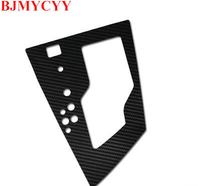 BJMYCYY Automobile gear panel decorative stickers for Toyota Corolla 2014 auto accessories car styling