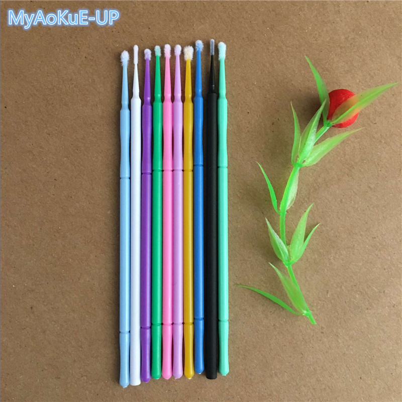 Microbrushes Makeup Brushes Swab Disposable 4