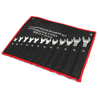 12 Pcs Combination Wrench Set Open And Box End Metric Mm 8 10 11 12 13