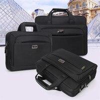 2019 New Business Men Briefcase High Capacity Men's Single Shoulder Bags 14 15 16 Laptop Bag Women Work Files Office Package