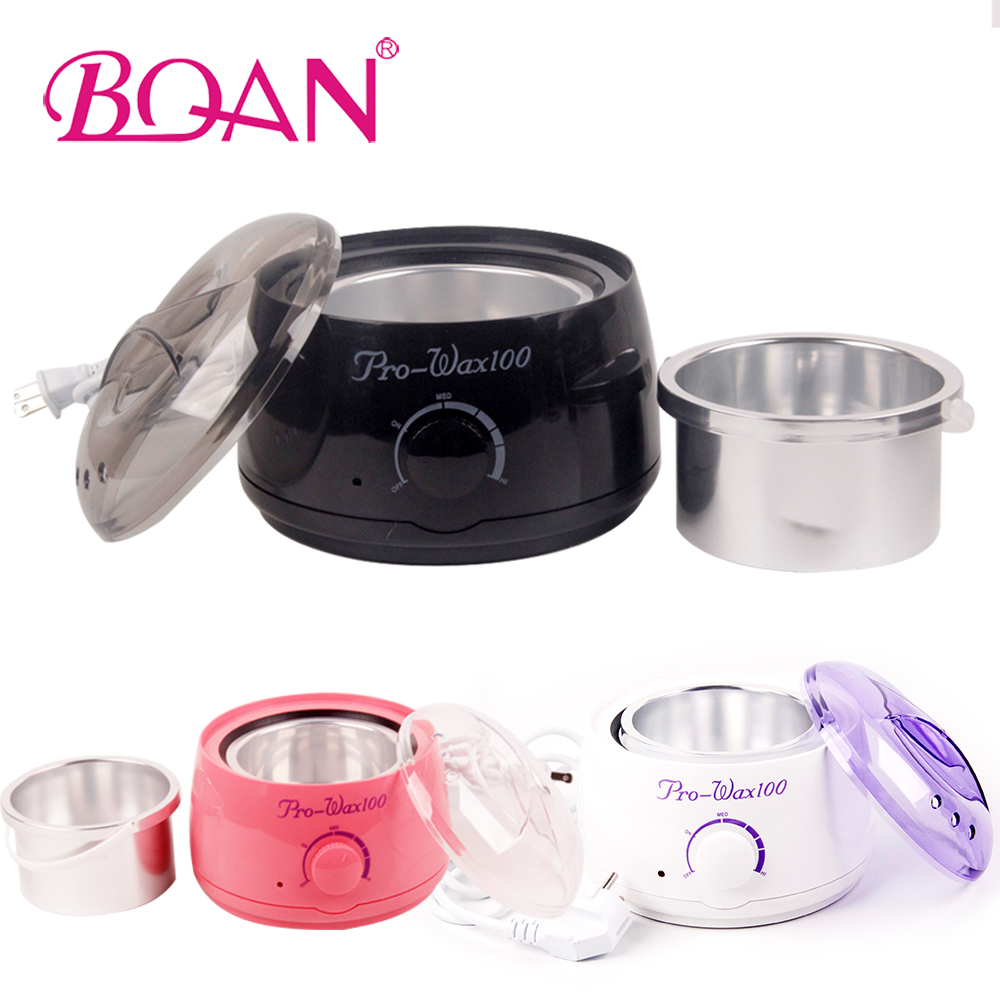 110V-240V Professional Warmer Wax Heater Machine Pot Mini Spa Hand Spilator Wax Paraffin Hair Removal Tool