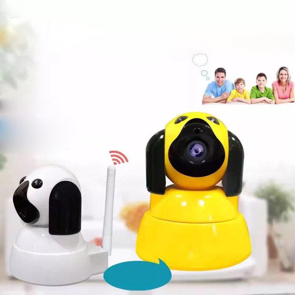 Sans fil Intelligent Chien Wifi caméra de sécurité à domicile Caméra IP Wi-Fi 720 P CCTV Surveillance Caméra Intérieure IR vision nocturne moniteur pour bébé