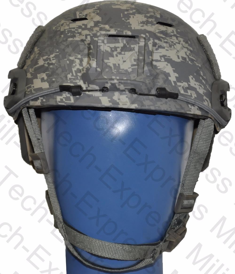 MILITECH FAST ACU BJ High Cut Style Vented Airsoft Tactical Helmet Ops Core Style Base Jump Training Helmet Air Soft Helmet fast aor2 pj carbon style vented airsoft tactical helmet ops core style high cut training helmet fast ballistic style helmet