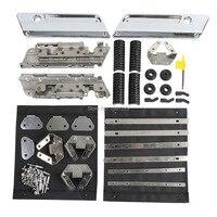 Saddlebag Hardware Latch Set for Harley-Davidson Touring Road King Glide Dyna 1994-2013