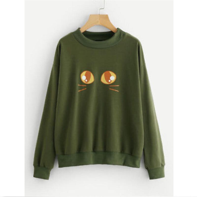 Fashion Stylish Men/Women Hooded Hoodies 3d Print Paint Eyes Thin Sweatshirts Tracksuits Pullovers Army Green