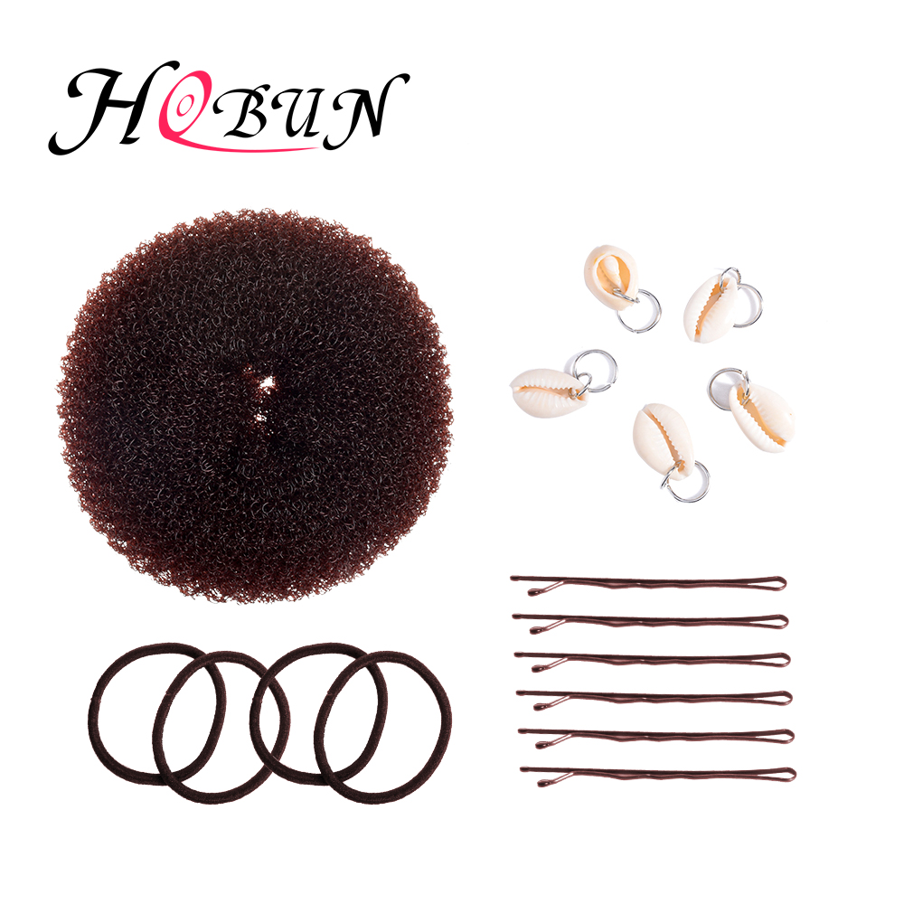 Tireless Hobun Hot Donut Maker Retro Fashion Hairpin Hair Accessory Hairpin Hair Ring 4 Piece Set Headwear Donut Para El Cabello 19111bn Styling Tools