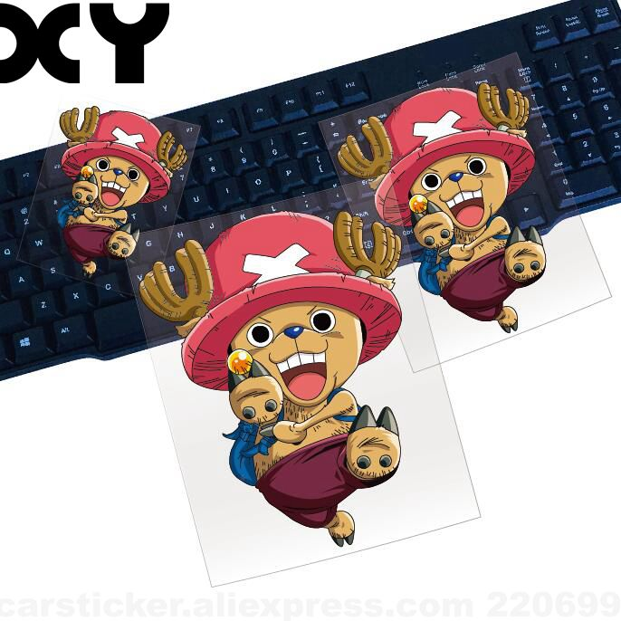 Tony Tony Chopper Cartoon Funny Vinyl Wrap Reflective Tape