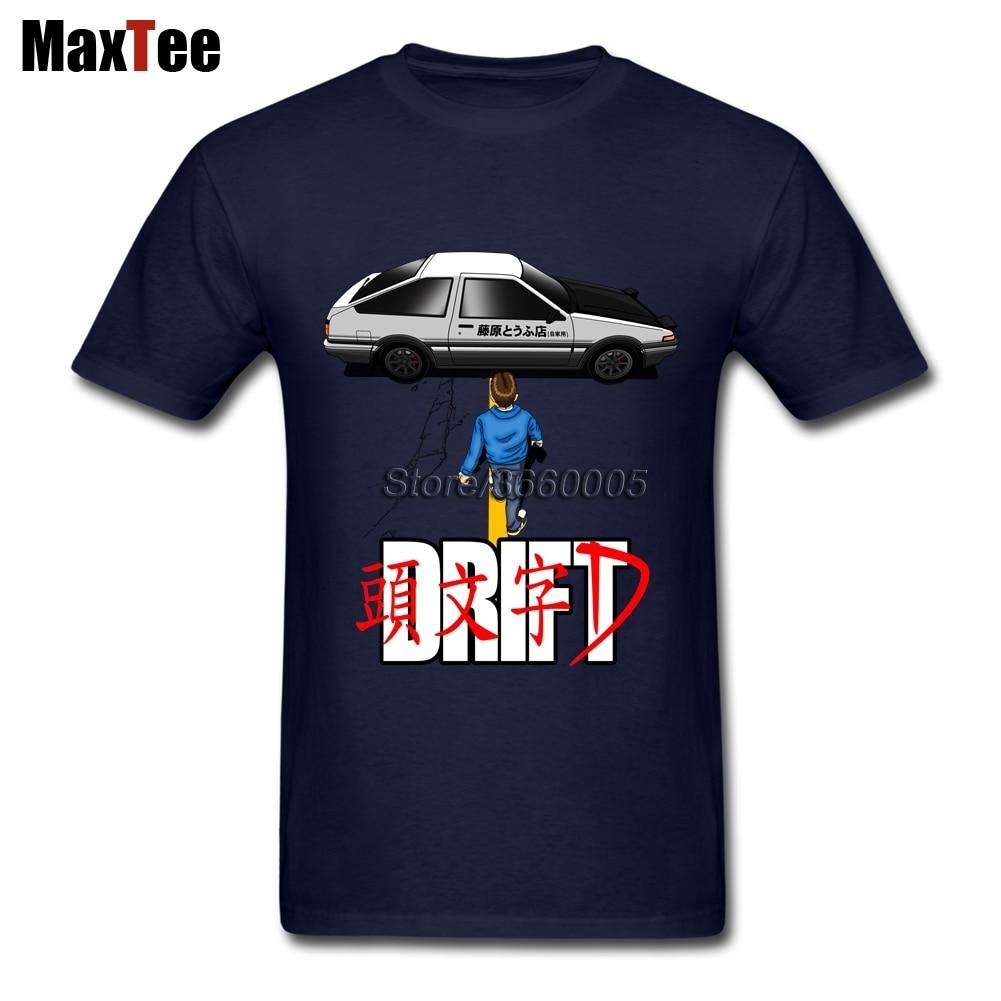 Japan Movie Initial D Drift T Shirts Short Sleeve Branded Custom Designer Tees Shirt Men Plus Size