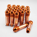 90Length Anodize 20PCS ALUMINUM EXTENDED TUNER WHEEL LUG NUTS WITH SPIKE FOR WHEELS M12X1.5