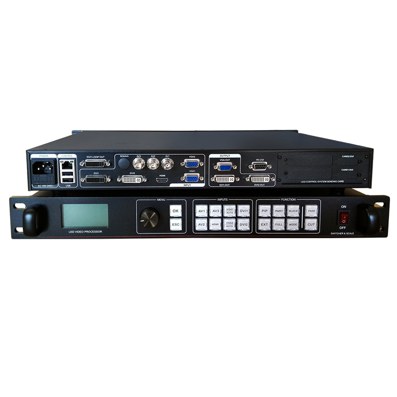 besplatna dostava rgb led video zid procesor video led kontroler - Igre i pribor - Foto 4