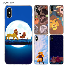 Uyellow Simba the Lion King Soft Cover For Iphone 5 6 6S 7 8 10 Plus Trend Silicone Phone Case Apple X XR XS MAX Coque