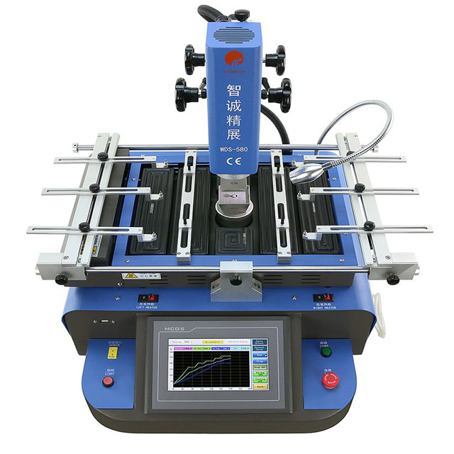 factory price WDS-580 solder motherboard bga machine with laser position & infrared for IphoneAndriod pcb board repair machine