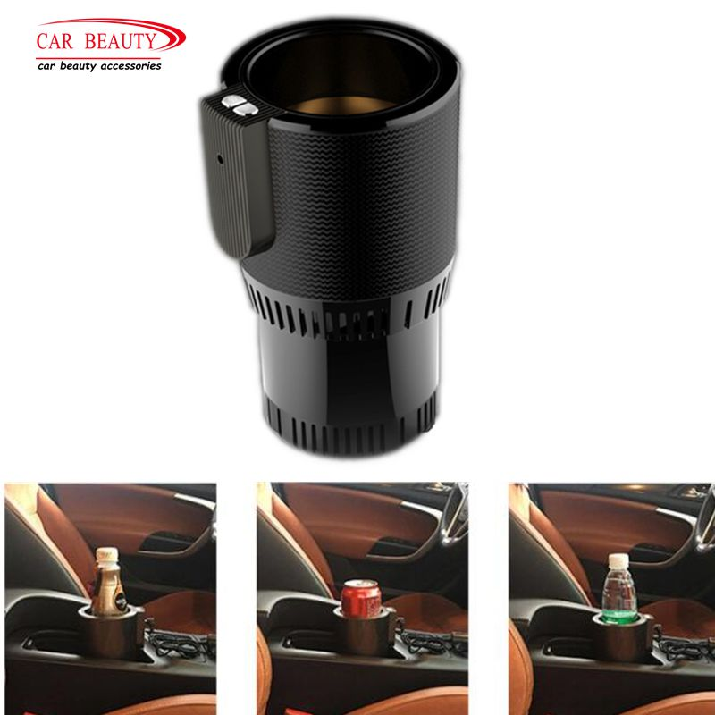 12V Auto Car Heating Cup Smart Car Cup Holder Cooler Warmer Auto Cup Drink Holder Water