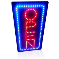 2014 Led Sign Free Shipping To Snap UpAnimated Motion Running LED Business OPEN SIGN On Off