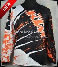 100% полиэстер KTM мотоцикл джерси Quick dry мотогонщиков носить мужские рубашки велоспорт KTM Мотокроссу Майки M-XXL